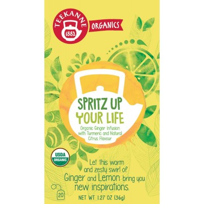 Teekanne Organic Spritz Up Your Life Tea
