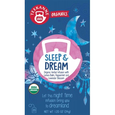Teekanne Organic Sleep & Dream Tea