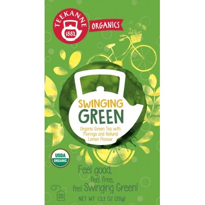Teekanne Organic Swinging Green Tea