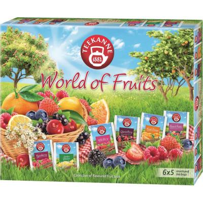 Teekanne World of Fruits 6 Flavor Tea Display