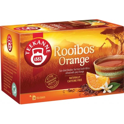 Teekanne Rooibus Orange Tea