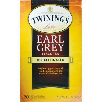 Twinings of London Earl Grey Decaffeinated Classic Tea