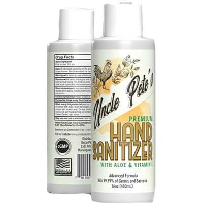 Uncle Pete's Hand Sanitizer 16 oz