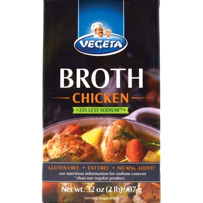 Vegeta Chicken Broth 33% Reduced Sodium