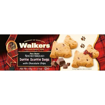 Walkers Dottie Scottie Dogs with Chocolate Chips
