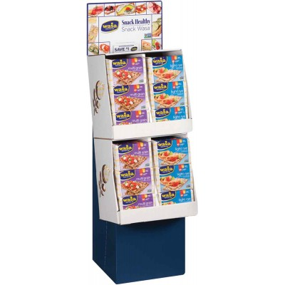 Wasa Classic Light Rye & Multigrain Crispbread Display