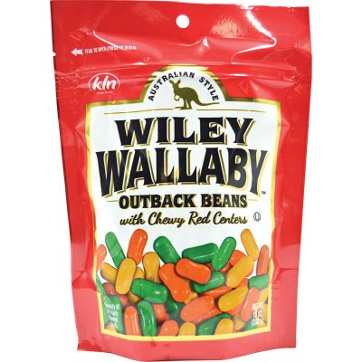 Wiley Wallaby Outback Beans Chewy Red Centers Bag